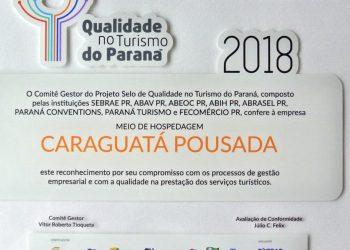 Selo de qualidade no turismo do Paraná 1